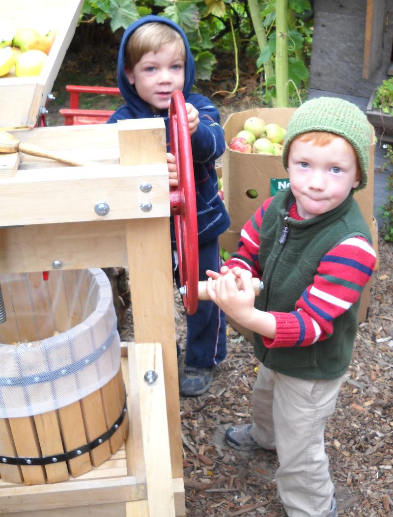 making cider