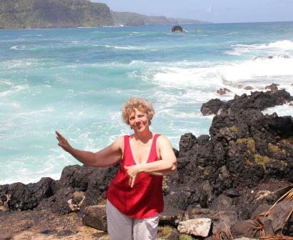 Cynthia in Hawaii