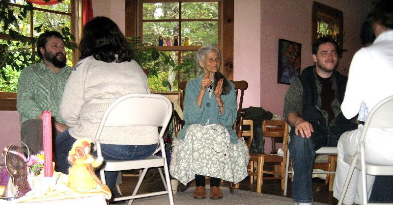 Nancy Mellon leads Storytelling in Maine