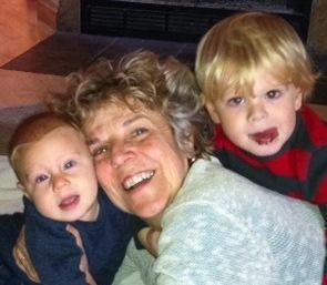 cynthia and grandkids