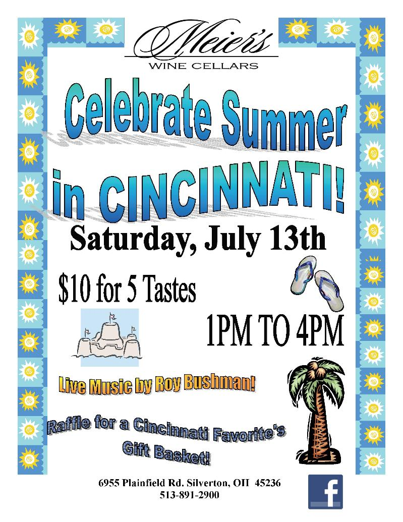 July 13th Summer Celebration at Meier's