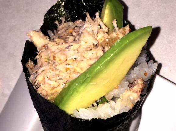 EIKO'S crab hand roll