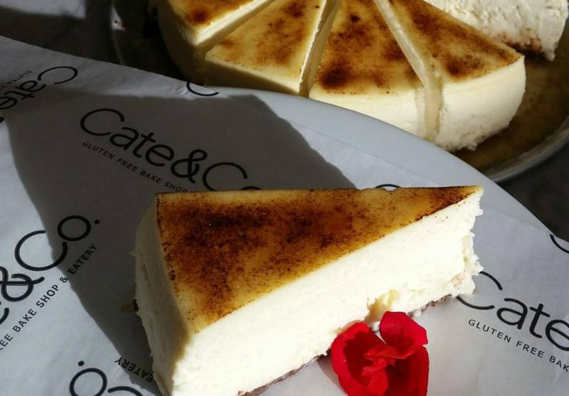 Cate & Co. cheesecake