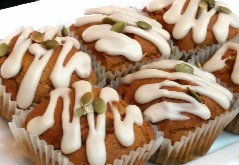 Pumpkins snack muffins