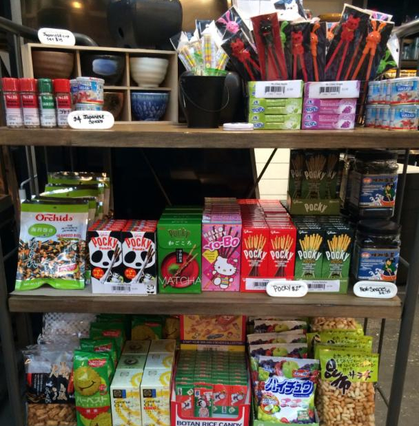 Eiko's Japanese snacks and candies