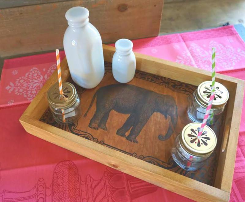 Poor House elephant tray