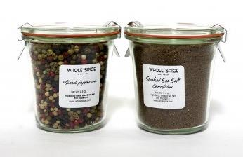 Whole Spice jars