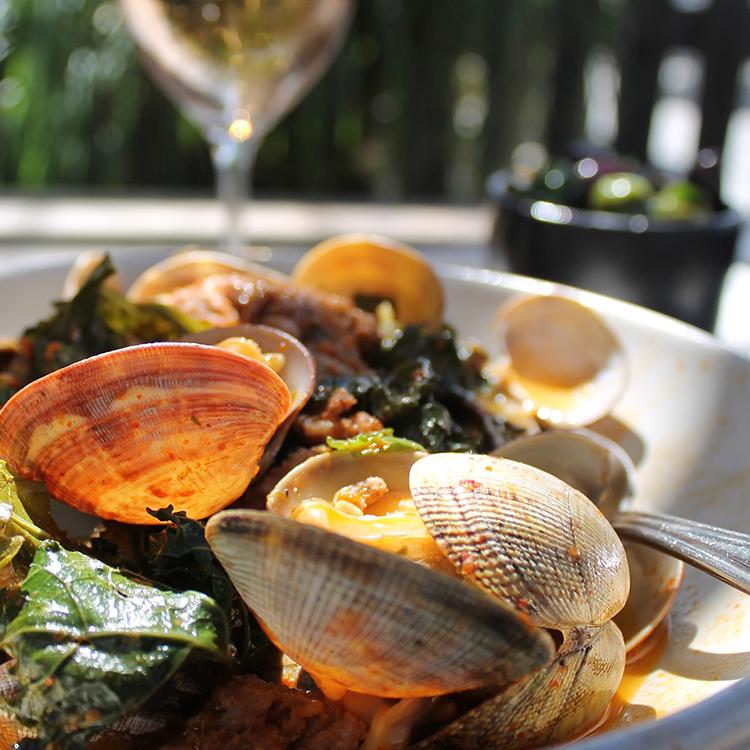 Hog Island clams