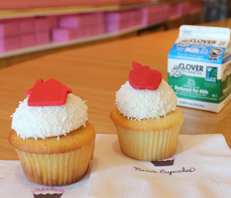 Kara's back-to-school cupcakes