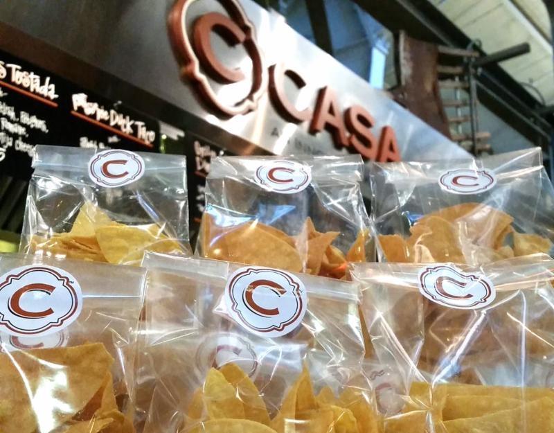 C CASA tortilla chips