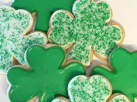 Kara's St. Patrick's Day cookies