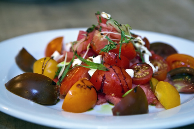 Model Bakery tomato salad