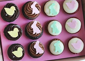 Kara's Easter cupcakes