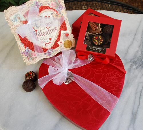 Anette's Valentine's Boxes