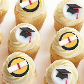 Kara's graduation cupcakes