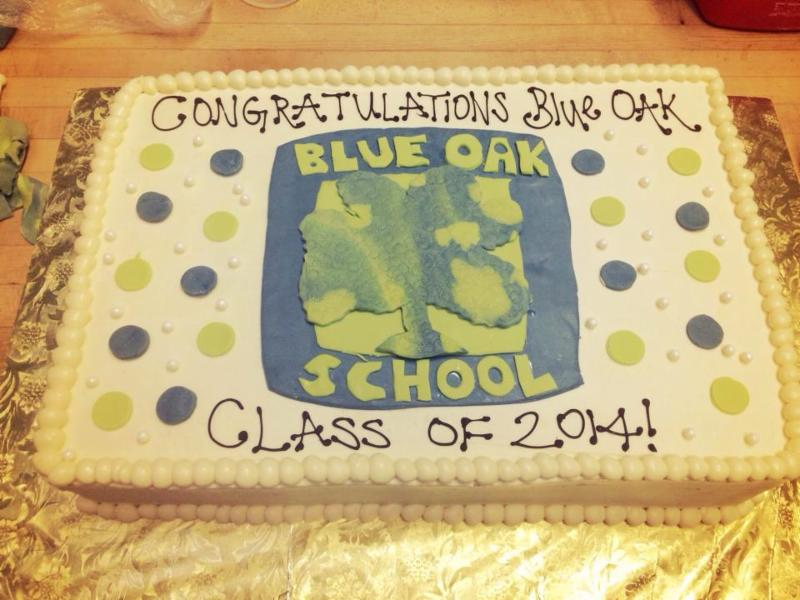 Model Bakery graduation cake