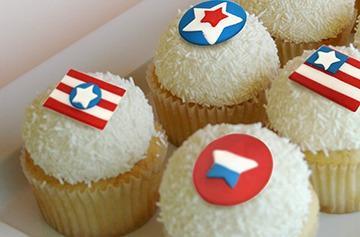Kara's Memorial Day Cupcakes