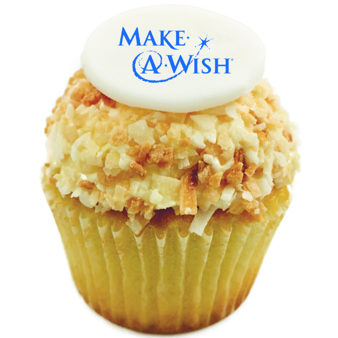 Kara's Make-a-Wish cupcake
