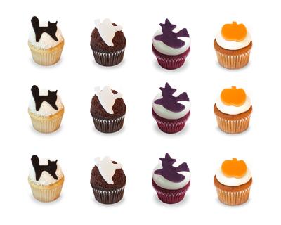 Kara's Halloween cupcakes