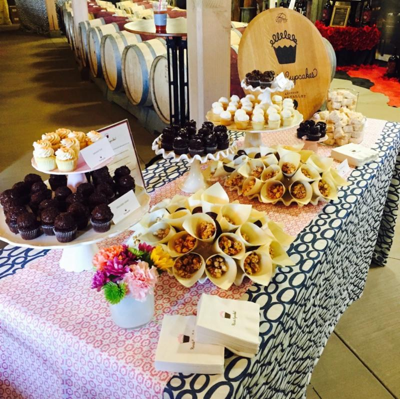 Kara's dessert table