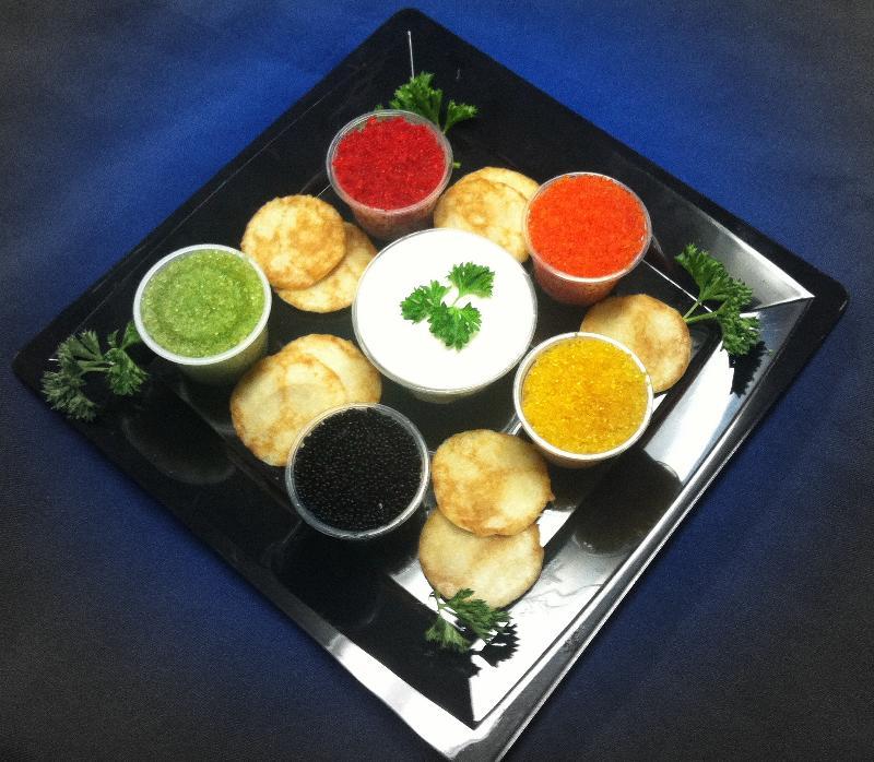Caviar from Kanaloa Seafood