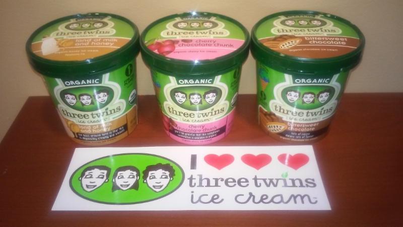 Three Twins Ice Cream flavors