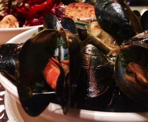 Hog Island mussels
