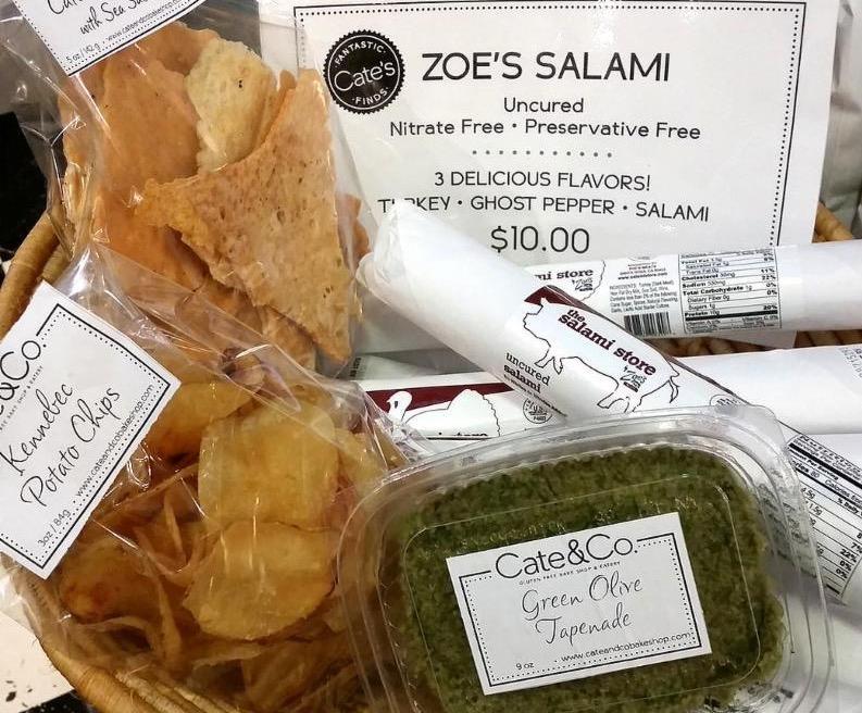 C CASA snacks