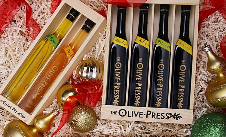 Olive Press Christmas sampler
