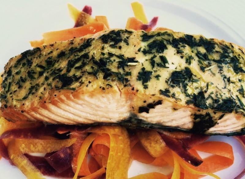 Whole Spice Tarragon salmon recipe