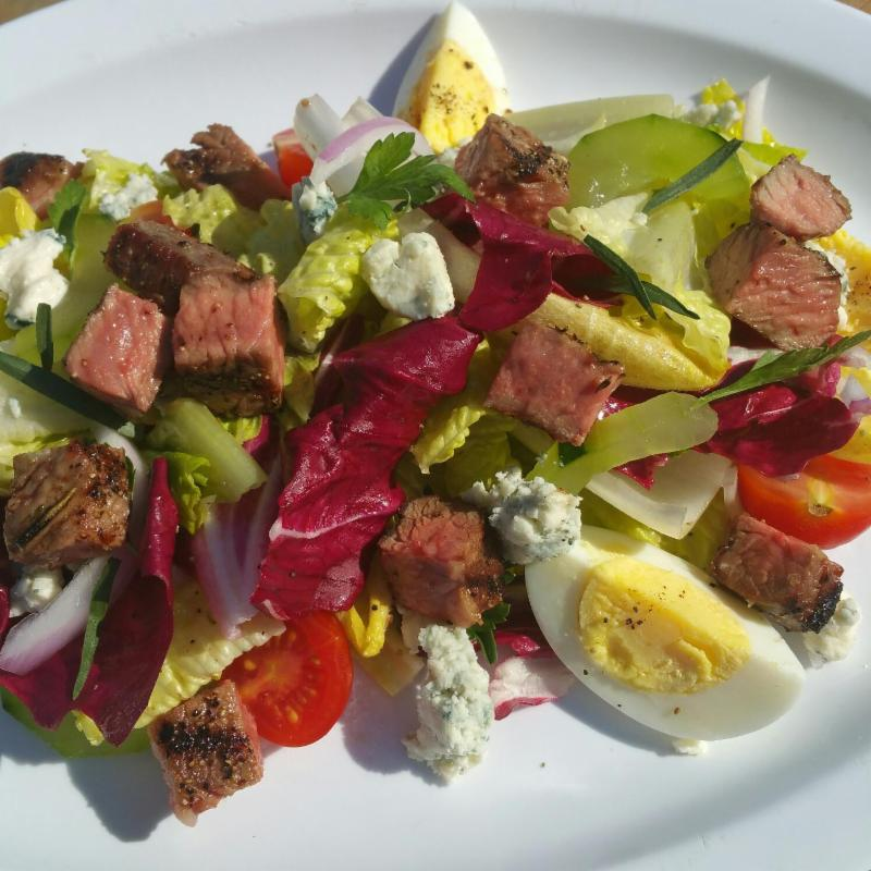 Five Dot steak salad