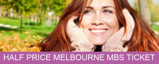 Melbourne MBS Half Price Ticket