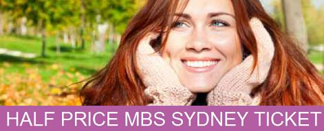 MBS Sydney Half Price Ticket