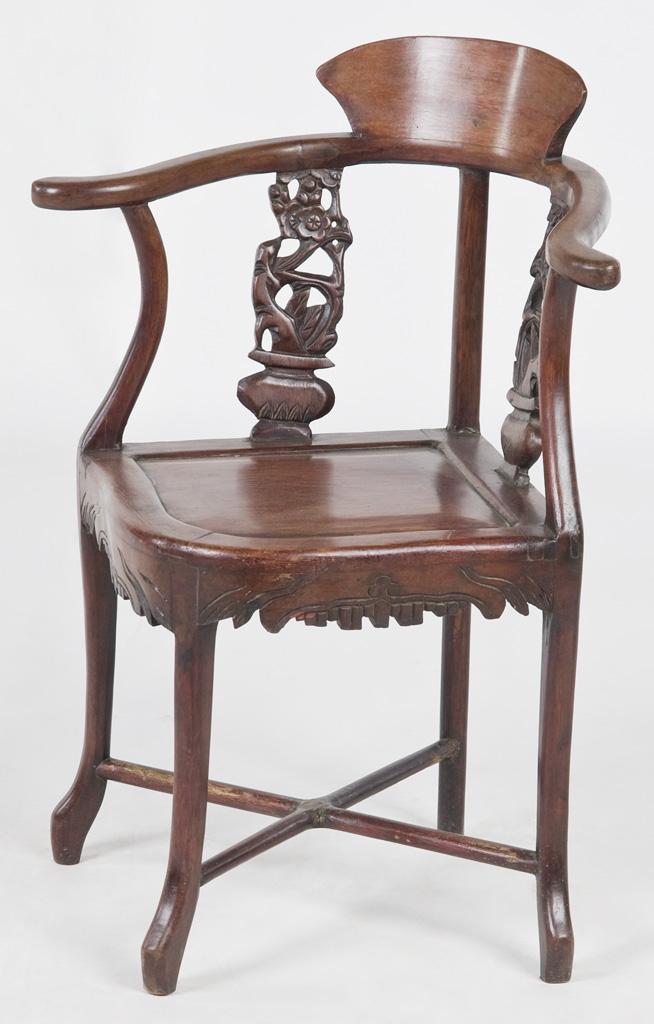 Chinese Ladies Corner Chair-XS1003y