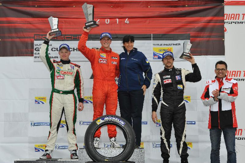 CTMP Race 1 May Podium