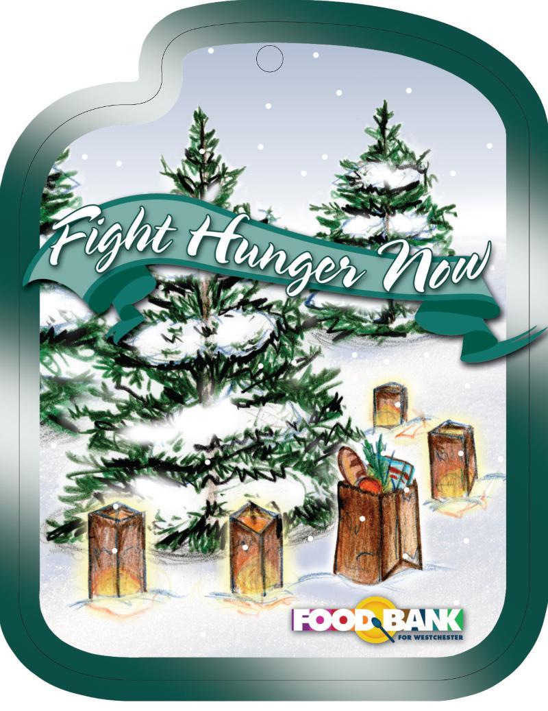 Food Bank Holiday Ornament