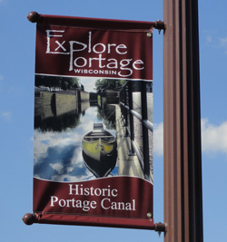 canal banners