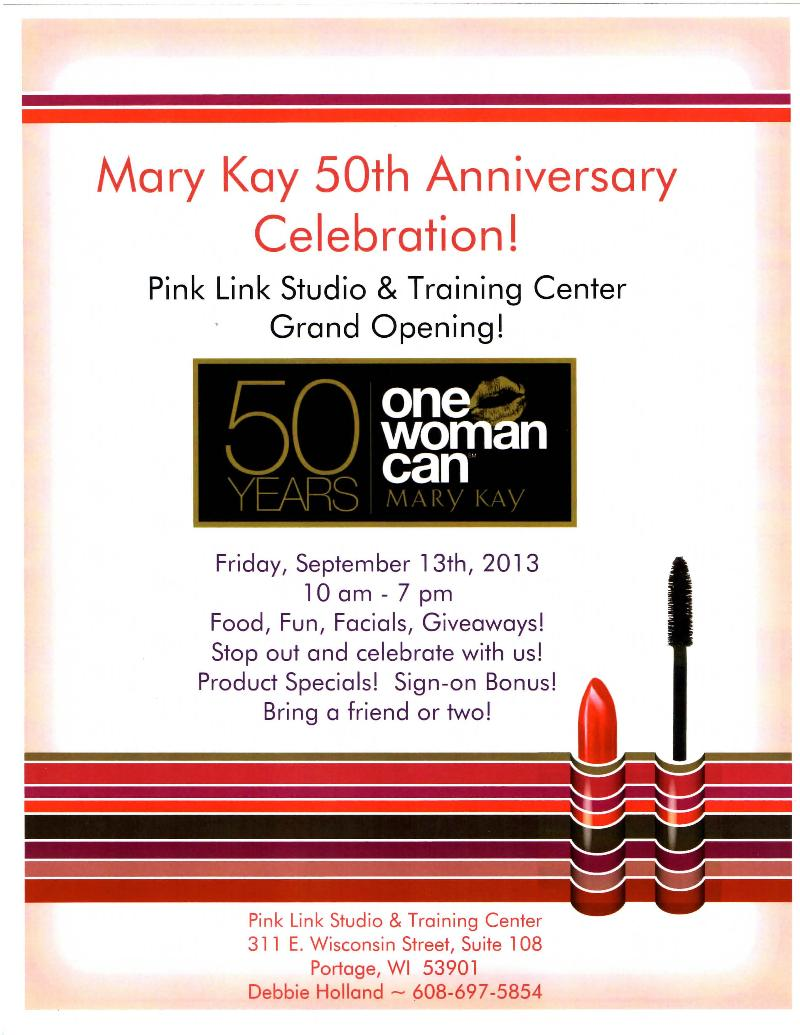 mary kay flyer 2013