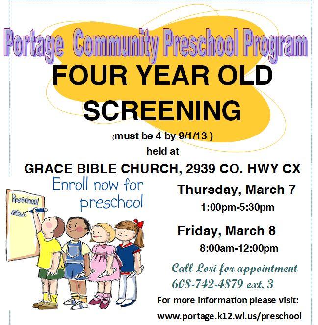 preschool program 2013