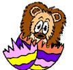 lion egg