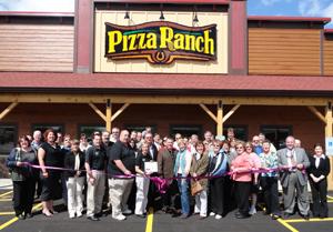 pizza ranch ribbon cutting