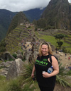 Heather at Machu Picchu