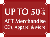 Up to 50% Off Select AFT Merchandise