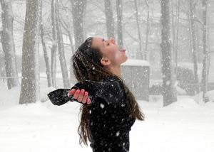 Snowfall by Leah Koskie