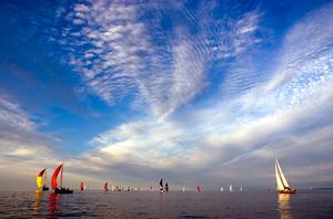 Sailing Lake Ontario by  Matthias Boettrich