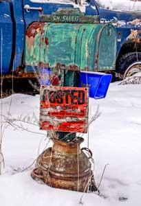Winter Mailbox by Sid Mann