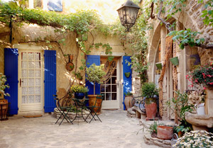 La Maison aux Volets Blues - Provence by Chris Kogut