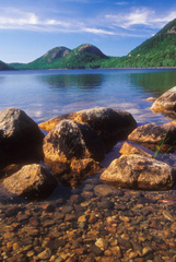 Bubbles at Jordan Pond by Gary Thompson