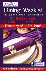 dining week 2012