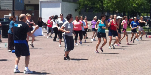 zumba in the square